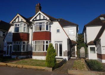 Thumbnail 3 bed semi-detached house to rent in Lloyd Park Avenue, Croydon