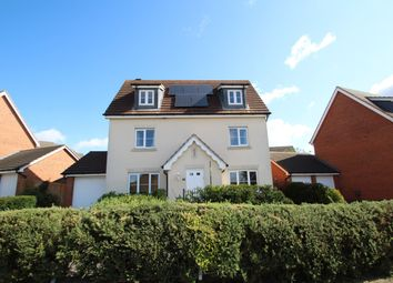 Thumbnail 5 bed detached house for sale in Wagtail Drive, Stowmarket