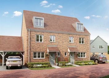 "Thumbnail 4 bedroom semi-detached house for sale in ""The Leicester"" at Watergate, Bexhill-On-Sea"