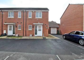 Thumbnail 2 bed end terrace house for sale in Brynteg Green, Beddau, Pontypridd, Rhondda, Cynon, Taff.