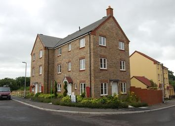Thumbnail 4 bed town house to rent in Shambles Drive, Copplestone, Crediton, Devon