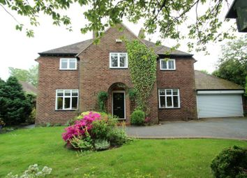 Thumbnail 5 bed detached house for sale in Oldfield Road, Altrincham
