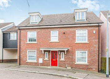 Thumbnail 5 bedroom link-detached house for sale in Dickenson Road, Colchester