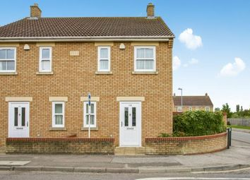 Thumbnail 2 bed semi-detached house for sale in Manea, March, Cambridgeshire