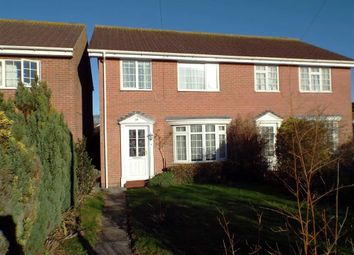 Thumbnail 3 bedroom semi-detached house for sale in Charlestone Road, Burnham-On-Sea, Somerset