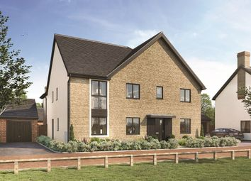 "Thumbnail 5 bed property for sale in ""The Wolvercote"" at The Furlong, Downs Road, Standlake, Witney"