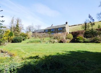 Thumbnail 4 bed equestrian property for sale in Quarnford, Buxton, Staffordshire
