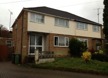 Thumbnail 3 bed semi-detached house to rent in Hayhurst Road, Luton, Beds