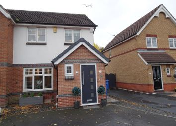 Thumbnail 3 bed semi-detached house for sale in Mason Road, Shipley View, Ilkeston