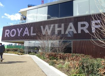 Thumbnail 2 bed property for sale in Compass House, Royal Wharf, London