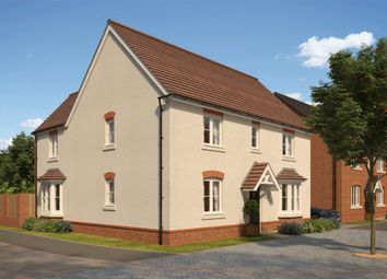 "Thumbnail 4 bedroom detached house for sale in ""Layton"" at The Walk, Withington, Hereford"