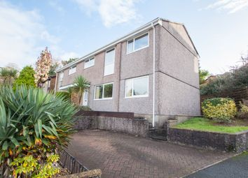Thumbnail 4 bed end terrace house for sale in Leatfield Drive, Crownhill, Plymouth