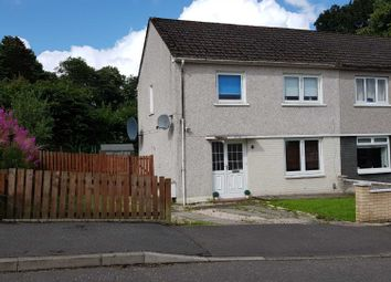 Thumbnail 3 bedroom semi-detached house to rent in Divernia Way, Barrhead, Glasgow