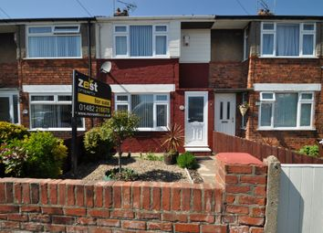 Thumbnail 2 bed terraced house for sale in Manor Road, Hull, Yorkshire