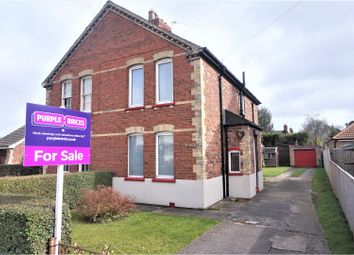 Thumbnail 2 bed semi-detached house for sale in Station Road, Healing