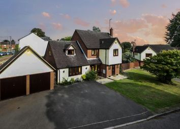 Thumbnail 5 bed detached house for sale in The Glebe, Stone, Aylesbury