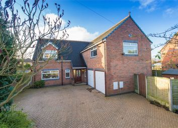 Thumbnail 4 bed detached house for sale in Mill Lane, Houghton Green, Warrington