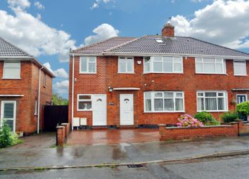 Thumbnail 5 bedroom semi-detached house for sale in Braunstone Close, Leicester