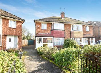 Thumbnail 3 bed semi-detached house for sale in Edinburgh Drive, Ickenham, Uxbridge, Middlesex