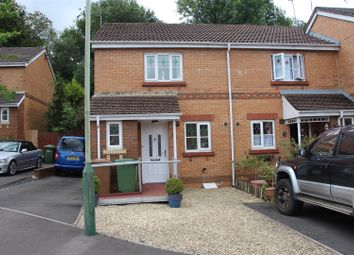 Thumbnail 2 bed end terrace house for sale in Rowland Drive, Caerphilly