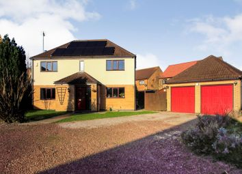 Thumbnail 4 bed detached house for sale in The Pingles, Thurlby, Bourne