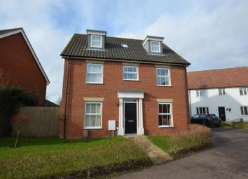 Thumbnail 5 bed detached house for sale in Lime Tree Avenue, Long Stratton, Norwich