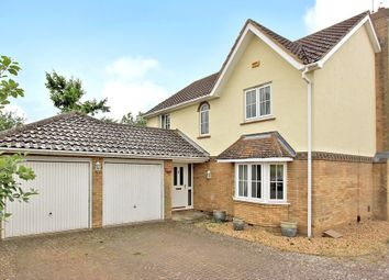 Thumbnail 4 bed detached house for sale in Mill Road, Over, Cambridge