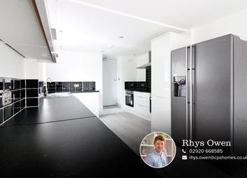 Thumbnail 6 bedroom terraced house for sale in Rhymney Street, Cathays, Cardiff