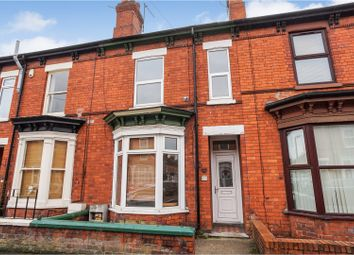 Thumbnail 3 bed terraced house for sale in Cranwell Street, Lincoln