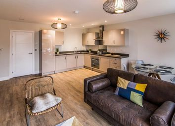 Thumbnail 2 bed flat to rent in Wood Street, Rugby