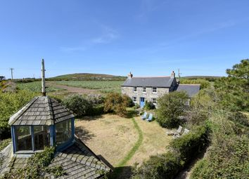 Thumbnail 3 bed detached house for sale in St. Buryan, Penzance, Cornwall