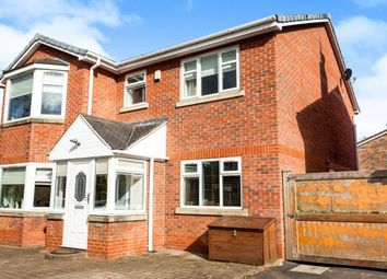 Thumbnail 4 bed detached house for sale in Cardigan Close, Callands, Warrington, Cheshire