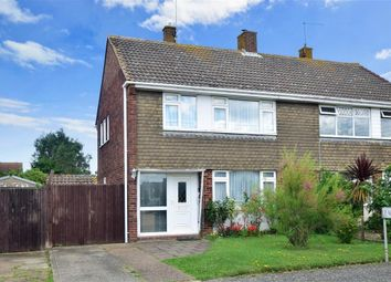 Thumbnail 3 bed semi-detached house for sale in Fairoaks, Herne Bay, Kent