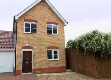 Thumbnail 3 bedroom detached house to rent in Fordham Place, Ixworth, Bury St Edmunds, Suffolk