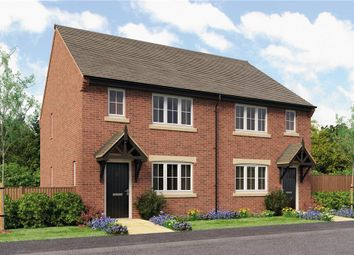 "Thumbnail 3 bedroom semi-detached house for sale in ""Pushkin"" at Main Road, Great Haywood, Stafford"