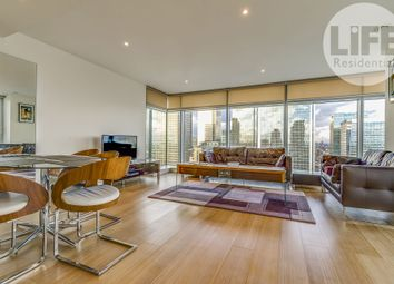 Thumbnail 2 bed flat to rent in 3 Pan Peninsula Square, East Tower, London