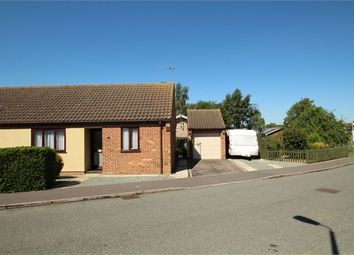 Thumbnail 2 bedroom semi-detached bungalow for sale in Reeds Way, Stowupland, Stowmarket, Suffolk