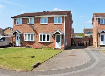 Thumbnail 2 bed semi-detached house for sale in Fleetwind Drive, East, Hunsbury, Northampton