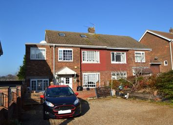Thumbnail 4 bed semi-detached house for sale in Scotby Avenue, Walderslade, Chatham