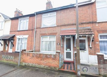 Thumbnail 2 bed terraced house for sale in Maidstone Road, Lowestoft