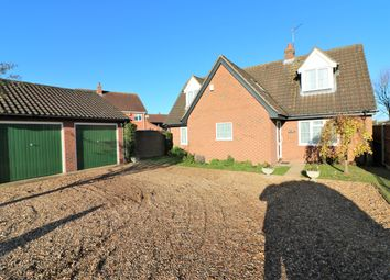 Thumbnail 3 bedroom detached house for sale in Greenfields Road, Dereham