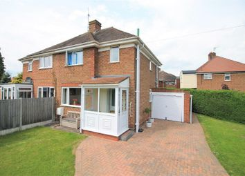Thumbnail 2 bed semi-detached house for sale in Hinton Avenue, Hereford