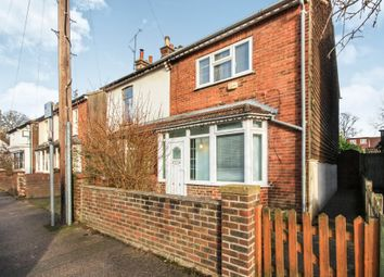 Thumbnail 3 bed semi-detached house to rent in Barrington Road, Horsham, West Sussex