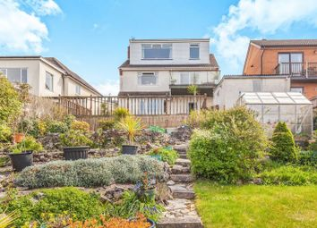 Thumbnail 3 bed detached house for sale in Cliff Road, Worlebury, Weston-Super-Mare