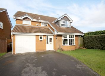 Thumbnail 4 bed detached house for sale in Asbury Road, Balsall Common, Coventry