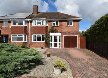 Thumbnail 5 bed semi-detached house for sale in Shirley Road, Droitwich