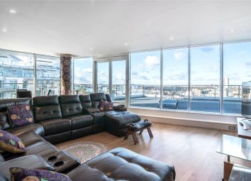 Thumbnail 2 bedroom flat for sale in Commodore House, Juniper Drive, Wandsworth, London