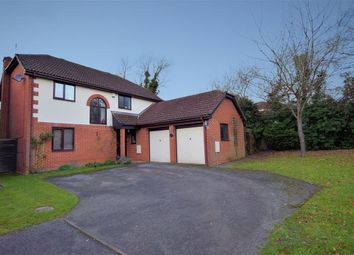 Thumbnail 4 bedroom detached house for sale in Hunters Way, Spencers Wood, Reading