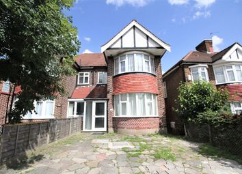 Thumbnail 3 bed semi-detached house to rent in Brunswick Park Road, London