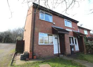 Thumbnail 2 bedroom end terrace house for sale in Blackthorn Drive, Leicester